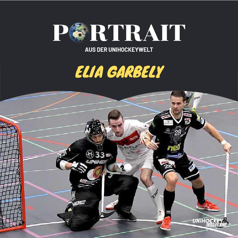 Portrait aus der Unihockeywelt mit Elia Garbely