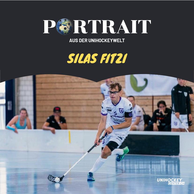 Portrait aus der Unihockeywelt mit Silas Fitzi
