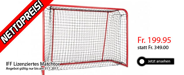 Unihockey Matchtor IFF