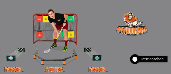 Myfloorball Passer Skiller